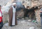 نجات دختر غارنشین توسط امام جمعه ممسنی