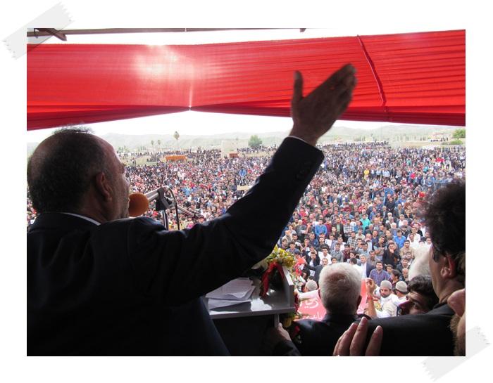 هاشمی پور در چرام نوید پیروزی داد/گزارش تصویری