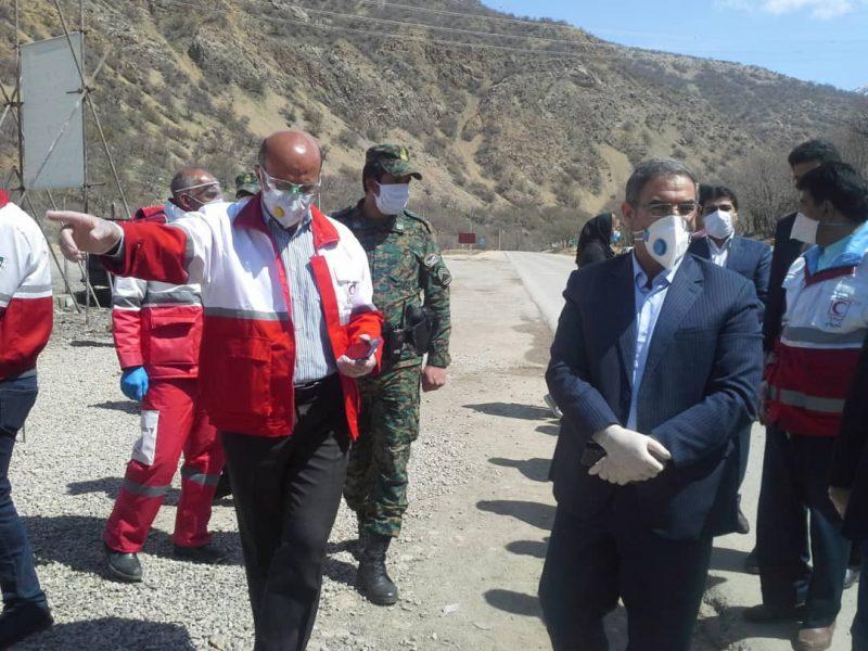 اقدامات ضد کرونایی جمعیت هلال احمر استان کهگیلویه وبویراحمد