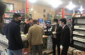 تعطیلی و پلمپ هایپر مارکت ها و فروشگاه های زنجیره ای در یاسوج/احتمال تمدید تعطیلی صنوف و بازاریان+تصاویر
